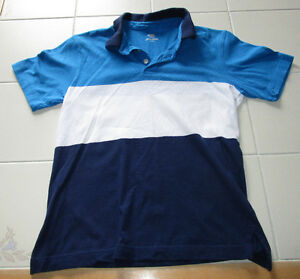 Boys blue/white polo shirt from Old Navy in size 10/12