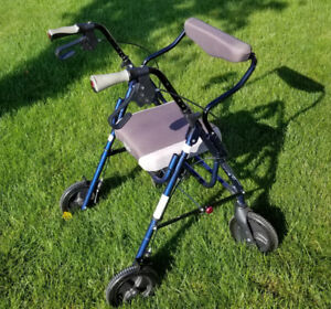 Gently used walker ! Very good condition .