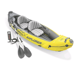 USED Intex Explorer K2 Kayak Two Person