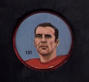 1963 CFL Nalley's Football Coin #121 Pete Manning