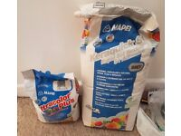 2 * MAPEI RAPID-SET FLEXIBLE ADHESIVE GREY 20KG and 1 * 5kg Grout