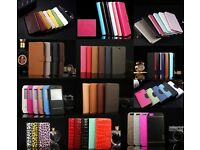 GENUINE COLOUR LEATHER WALLET FLIP COVER CASE 4 iPhone 6/6S 6 PLUS/6S PLUS WHOLESALE