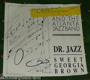 """7"""" - Lous Dassen and the Atlanta Jazzband - Dr. Jazz - Sweet Georgia Braun - Innsbruck, Österreich - Rücknahmen akzeptiert - Innsbruck, Österreich"""
