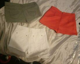 Womens Bundle of Shorts Size 14