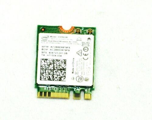 806723-005, 806723-001, Intel Dual Band Wireless-AC 3165 802.11 ac 1x1 WiFi