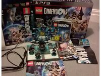 PS3 Lego Dimensions Starter Pack, Complete with Box & Poster!