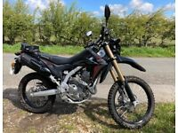 2019 Honda crf 250 l 1200 miles only 1 owner road used only