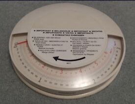 Kenwood Add and Weigh kitchen scales