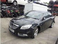 Vauxhall Insignia. Black Bonnet. Breaking spares parts