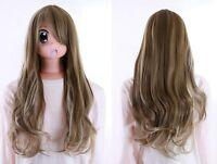 Y-30-10 Rubia Mix 70cm Cosplay Fashion Peluca Wig Perruque Resistente Al Calor -  - ebay.es