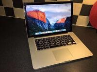 Apple Macbook Pro Laptop 15.4 inch