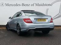 Mercedes-Benz C Class C180 BLUEEFFICIENCY AMG SPORT PLUS (silver) 2013-04-18