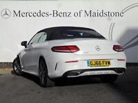Mercedes-Benz C Class C 220 D AMG LINE PREMIUM PLUS (white) 2016-10-31