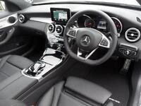 Mercedes-Benz C Class C220 D AMG LINE PREMIUM (silver) 2017-05-05