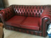Chesterfield two seater £200