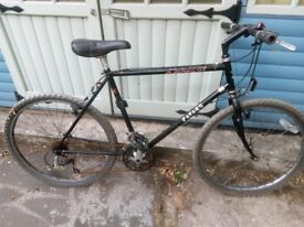 "Man's Black Bike 20"" Frame"