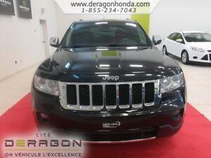 2013 Jeep Grand Cherokee OVERLAND + 4RM + HEMI 5.7L + AUCUN ACCI