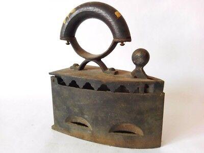 Antique cast Iron on coal