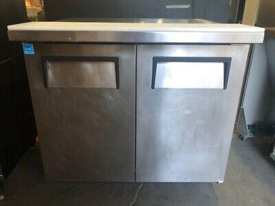 True Two Door Undercounter Refrigerator Model Tuc-36-34