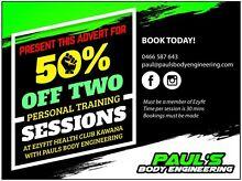 Half price Personal Training Meridan Plains Caloundra Area Preview