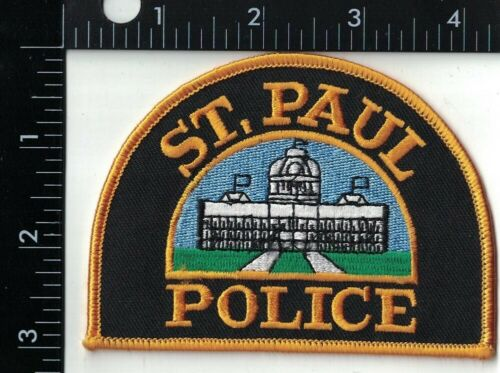 St. Paul Police Minnesota MN Patch
