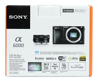 Sony Alpha a6000 24.3 MP Digital Camera -Silver (Only Body)