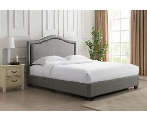 Alcott Hill - Mellen Upholstered King Platform Bed