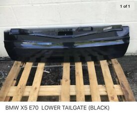 Bmw E70 lower tail gate