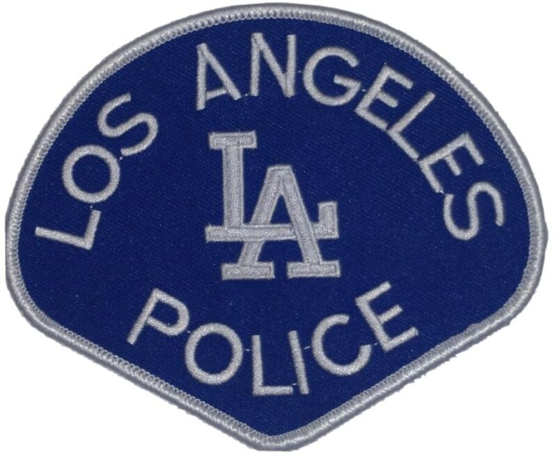 Los Angeles Dodgers LA Police Department 2020 California Edition Novelty