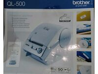 Brother QL500 Till Receipt Printer