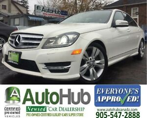 2012 Mercedes-Benz C-Class 4 MATIC-NAV-BACKUP CAMERA-PANORAMIC R