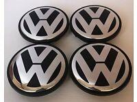 4 x VW 56mm centre caps 1JO601170