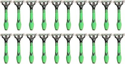 Schick Xtreme3 Disposables Razors Flexible 3 Blades w New Handle - Lot of 20