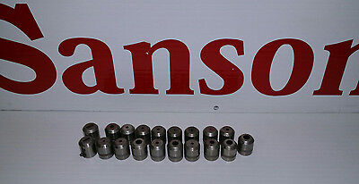Amada Thick Turret 12 Tooling Die Lot Of 19 Various Size And Shape Dies