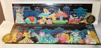 Disneyland Tickets Commemorative Main St Electric Parade Farewell Season 1972 96