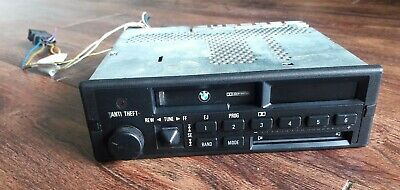 BMW OEM E24 E28 E30 FRONT CASSETTE PLAYER RADIO TAPE INDASH STEREO MODEL CM5908