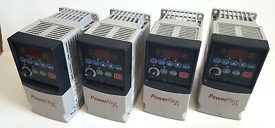 1 Pc Allen Bradley 22a-b4p5n104 Power Flex 4 Ac Drive 0.75kw1.0hp