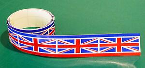UNION-JACK-FLAG-TAPE-Vespa-Lambretta-sticker-1220x25mm-2-Lots