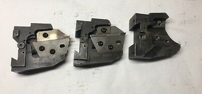 Warner Swasey Lathe Manchester Tool Blade Holders - T-942-c - Qty. 3 - Clean