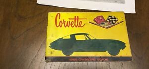 66 corvette Owners Guide