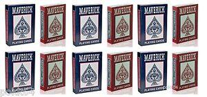 Kartusche 12 Satz 54 Karten poker maverick 54 Karten Index regulär 120598