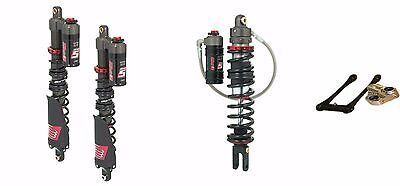 ELKA STAGE 5 FRONT REAR SHOCKS LONESTAR DC PRO LONG TRAVEL LINKAGE YFZ450R 450R