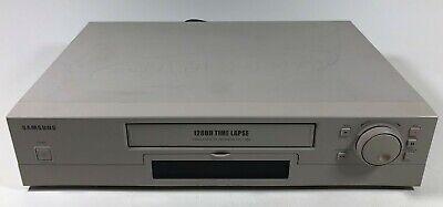 Samsung Ssc-1280 Time Lapse Surveillance Vcr Video Cassette Recorder Tested