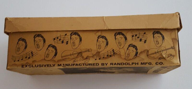Elvis Presley 1956 Original Sneaker Box By Randy