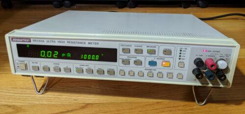 Advantest R8340A Ultra-High Resistance Meter & Picoammeter - Tested