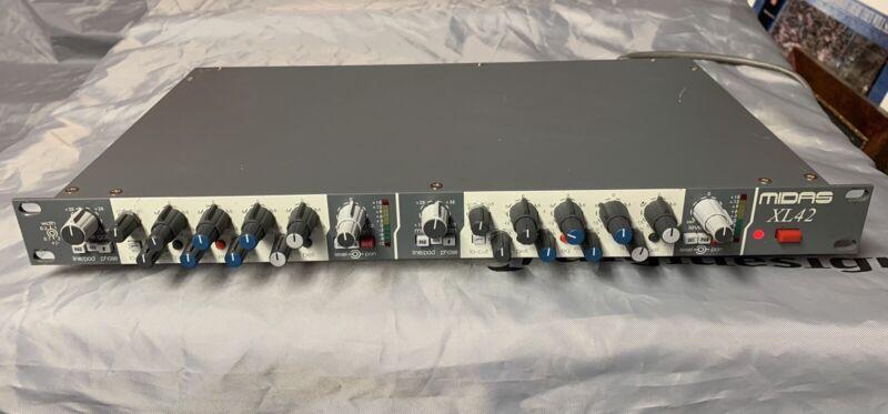 Midas XL42 Dual Channel EQ/Preamp XL-42