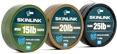 Nash SkinLink Hooklink NEW Skin Link Coated Braid Hook Link *Full Range*