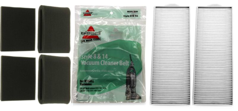 Bissell Lift-Off Supply Kit, Includes (2) Bissell 3093, (2) 3091, (2) 3200