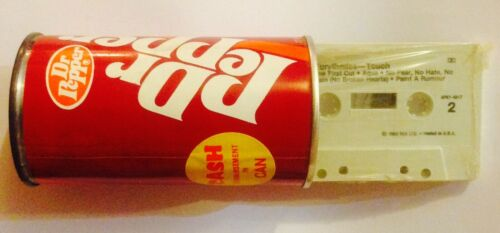 Rare Eurythmics 1983 Contest Giveaway Touch Cassette Dr Pepper Bank Annie Lennox