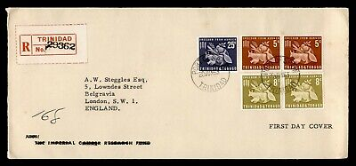 DR WHO 1963 TRINIDAD & TOBAGO FDC FREEDOM FROM HUNGER C223603